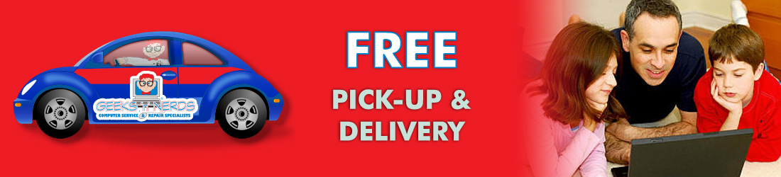 Free Pick-up and Delivery